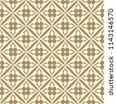 seamless ornamental pattern... | Shutterstock .eps vector #1143146570