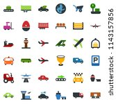 colored vector icon set  ... | Shutterstock .eps vector #1143157856