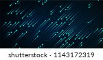 binary circuit board future... | Shutterstock .eps vector #1143172319