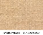 burlap background and texture | Shutterstock . vector #1143205850