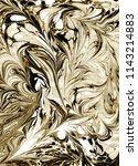 watercolor pattern. marble... | Shutterstock . vector #1143214883