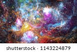 abstract bright colorful... | Shutterstock . vector #1143224879