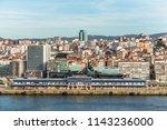 vigo  spain   may 20  2017 ... | Shutterstock . vector #1143236000