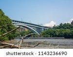 spuyten duyvil creek is a short ...   Shutterstock . vector #1143236690