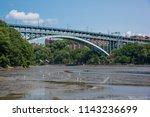 spuyten duyvil creek is a short ...   Shutterstock . vector #1143236699