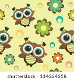 Seamless Kid Pattern.vector...