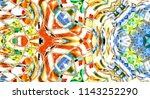 colorful abstract pattern for... | Shutterstock . vector #1143252290