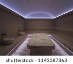 3d rendering interior of luxury ... | Shutterstock . vector #1143287363