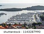 vrsar  croatia   may 22  2018 ... | Shutterstock . vector #1143287990