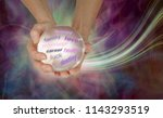 what does the crystal ball say... | Shutterstock . vector #1143293519