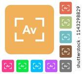 camera aperture value mode flat ... | Shutterstock .eps vector #1143298829