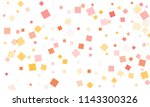 pink  red  yellow and orange... | Shutterstock .eps vector #1143300326