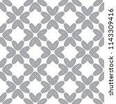 geometric ornamental vector... | Shutterstock .eps vector #1143309416