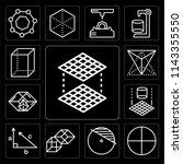 set of 13 simple editable icons ... | Shutterstock .eps vector #1143355550