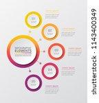 vector business template for... | Shutterstock .eps vector #1143400349
