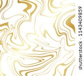gold white marble vector... | Shutterstock .eps vector #1143409859