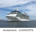edinburgh  scotland  july 22 ... | Shutterstock . vector #1143421976
