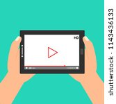 flat video player template for...