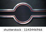 dark metal perforated... | Shutterstock .eps vector #1143446966