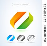 vector abstract letter o logo...