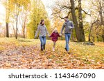 family  season and people... | Shutterstock . vector #1143467090