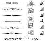 typographic set | Shutterstock vector #114347278