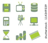 internet icon  web icon set | Shutterstock .eps vector #114349339