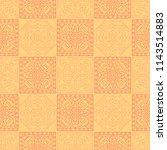 seamless background.  indian... | Shutterstock .eps vector #1143514883