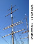 Masts And Rigging On Historic...