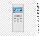 conditioner remote control... | Shutterstock .eps vector #1143566720