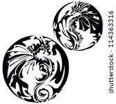 dragon | Shutterstock .eps vector #114363316