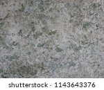 concrete stone eroded with mold ... | Shutterstock . vector #1143643376