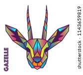 Gazelle   Low Poly   Colorful...