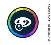 cost per impression   app icon   Shutterstock .eps vector #1143686993