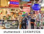philadelphia  pennsylvania  ... | Shutterstock . vector #1143691526