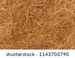 background of a haystack. straw ... | Shutterstock . vector #1143703790