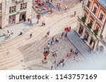 lviv  ukraine   july 21  2018  ...   Shutterstock . vector #1143757169