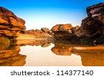 sam phan bok   canyon thailand | Shutterstock . vector #114377140