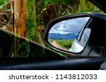 rear view perspective photo ... | Shutterstock . vector #1143812033