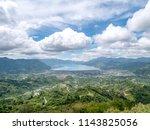 pantan terong takengon  aceh... | Shutterstock . vector #1143825056