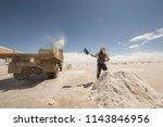 salar de uyuni is the world's... | Shutterstock . vector #1143846956