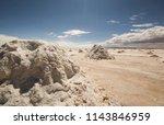 salar de uyuni is the world's... | Shutterstock . vector #1143846959