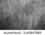 dark gray metal steel abstract... | Shutterstock . vector #1143847889