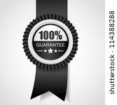 black label. 100  guarantee....
