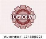 red passport rossete with text... | Shutterstock .eps vector #1143888326
