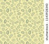 germs   bacteria   vector...   Shutterstock .eps vector #1143928340