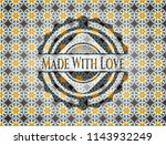 made with love arabesque style... | Shutterstock .eps vector #1143932249