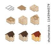 vector illustration house ... | Shutterstock .eps vector #1143944579