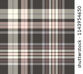 plaid check patten in black ... | Shutterstock .eps vector #1143954650