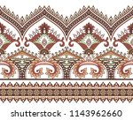 seamless wide horizontal ... | Shutterstock .eps vector #1143962660